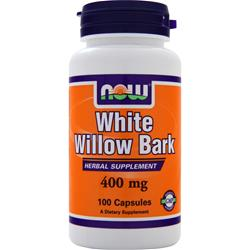 Now White Willow Bark (400mg) 100 caps