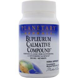 PLANETARY FORMULAS Bupleurum Calmative Compound 60 tabs