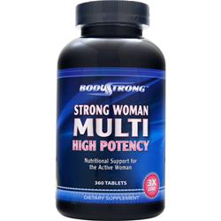 BODYSTRONG Strong Woman Multi - High Potency 360 tabs