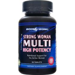 BodyStrong Strong Woman Multi - High Potency 90 tabs