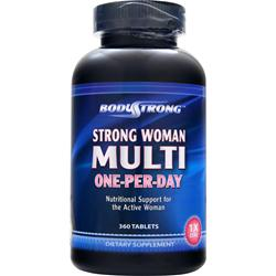 BODYSTRONG Strong Woman Multi - One-Per-Day 360 tabs