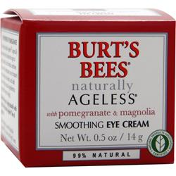 BURT'S BEES Naturally Ageless Line Smoothing Eye Cream w/ Pomegranate & Magnolia .5 oz