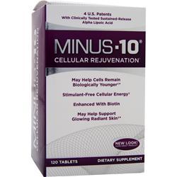 Natrol Minus-10 Cellular Rejuvenation 120 tabs