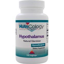 Nutricology Hypothalamus - Natural Glandular 100 vcaps