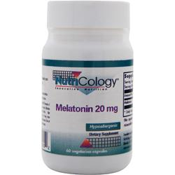 NUTRICOLOGY Melatonin (20mg) 60 vcaps