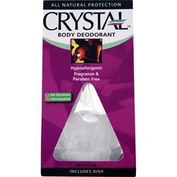 CRYSTAL All Natural Body Deodorant - Original Rock 5 oz