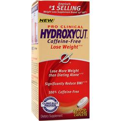 MUSCLETECH Hydroxycut Pro Clinical - Caffeine Free 72 cplts