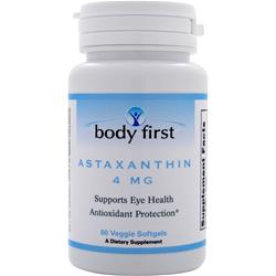 BODY FIRST Astaxanthin (4mg) 60 sgels
