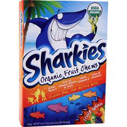 Sharkies Organic Fruit Chews Fruit Splash 5 pck