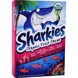 SHARKIES Organic Fruit Chews Berry Bites 5 pck