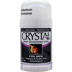 Crystal All Natural Body Deodorant Stick for Men 4.25 oz