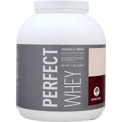 NATURE'S BEST Perfect Whey Protein Cookies & Cream 5 lbs