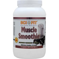 SCI-FIT Muscle Smoothie Cookies 'N Cream 3 lbs
