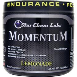 STARCHEM LABS Momentum - Pre Workout Powerhouse Lemonade 175.2 grams