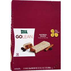 Kashi GOLEAN Protein & Fiber Bar Oatmeal Raisin 12 bars