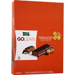 KASHI GOLEAN Protein & Fiber Bar Peanut Butter & Chocolate 12 bars