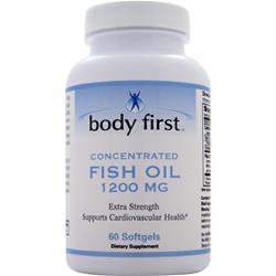 Body First Fish Oil (1200mg) 60 sgels