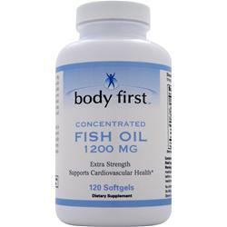 Body First Fish Oil (1200mg) 120 sgels