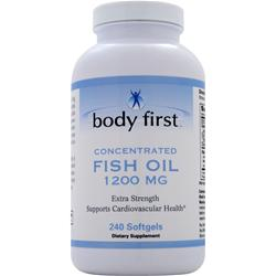 Body First Fish Oil (1200mg) 240 sgels