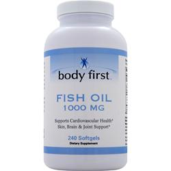 BODY FIRST Fish Oil (1000mg) 240 sgels