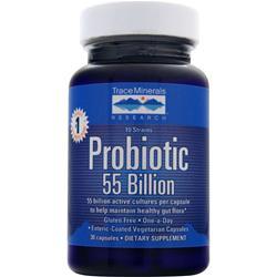 Trace Minerals Research Probiotic 55 Billion 30 caps