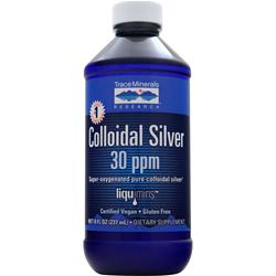 TRACE MINERALS RESEARCH Colloidal Silver 30ppm 8 fl.oz