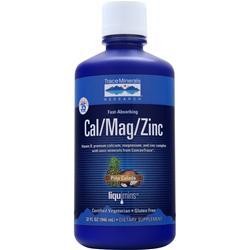 Trace Minerals Research Cal/Mag/Zinc Liquid Pina Colada 32 fl.oz