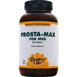 COUNTRY LIFE Prosta-Max for Men 200 tabs