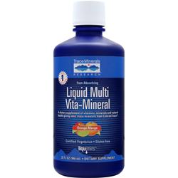TRACE MINERALS RESEARCH Liquid Multi Vita-Mineral Orange Mango 32 fl.oz