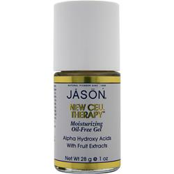 Jason New Cell Therapy - Moisturizing Oil-Free Gel Alpha Hydroxy Acids with Fruit Extracts 1 oz