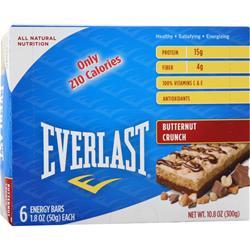 EverNutrition Energy Bar Butternut Crunch 6 bars