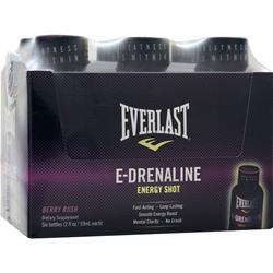 EverNutrition E-Drenaline Energy Shot Berry Rush 6 bttls