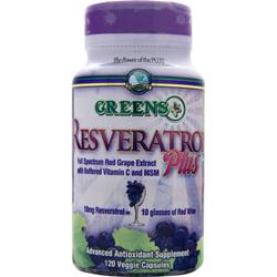 GREENS PLUS Resveratrol Plus 120 vcaps