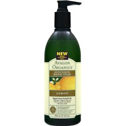 AVALON ORGANICS Glycerin Hand Soap Lemon 12 fl.oz