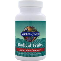 Garden Of Life Radical Fruits Antioxidant Complex 60 cplts