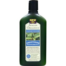 AVALON ORGANICS Conditioner Strengthening Peppermint 11 fl.oz
