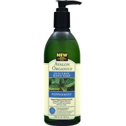 Avalon Organics Glycerin Hand Soap Peppermint 12 fl.oz