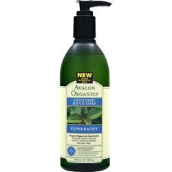 Avalon Organics Glycerin Hand Soap Peppermint 12 fl.oz