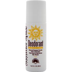 NATURE'S GATE Deodorant Roll-On Summer Spice 3 oz