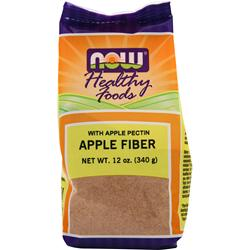 NOW Apple Fiber with Pectin 12 oz