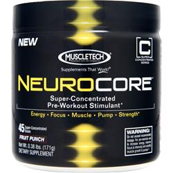 Muscletech Neurocore Blue Raspberry .4 lbs