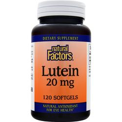 Natural Factors Lutein (20mg) 120 sgels