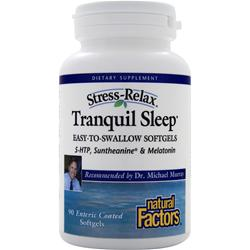 NATURAL FACTORS Tranquil Sleep 90 sgels