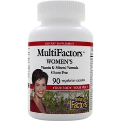 NATURAL FACTORS MultiFactors Women's 90 vcaps