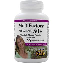 Natural Factors MultiFactors Women's 50+ 90 vcaps