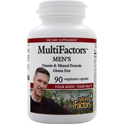 NATURAL FACTORS MultiFactors Men's 90 vcaps