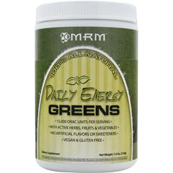MRM Daily Energy Greens - 100% All Natural 7.4 oz