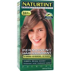 NATURTINT Permanent Hair Colorant 8A Ash Blonde 5.98 oz