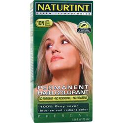 NATURTINT Permanent Hair Colorant 10N Light Dawn Blonde 5.98 oz