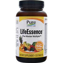 Pure Essence Labs LifeEssence - Energizing Whole Food Multiple 120 tabs